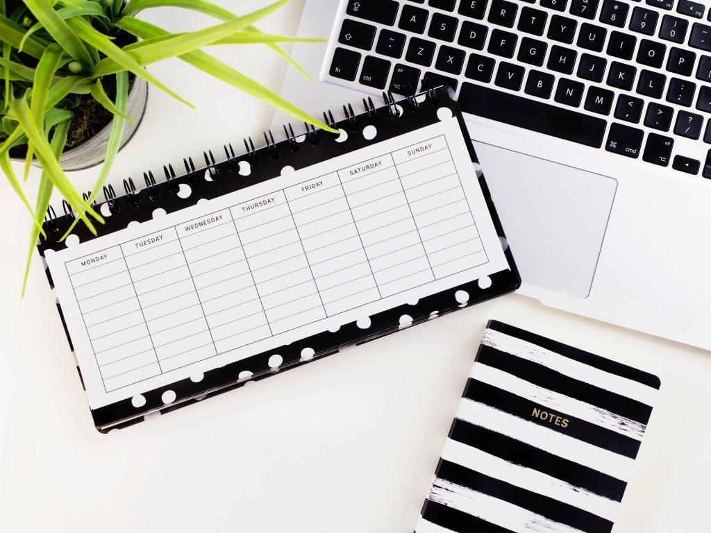 diary, calendar, management